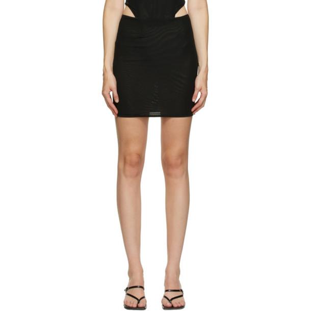 Miaou Black Moni Miniskirt