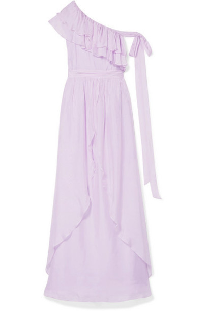 Rachel Zoe - Susanna Ruffled Chiffon Gown - Lilac