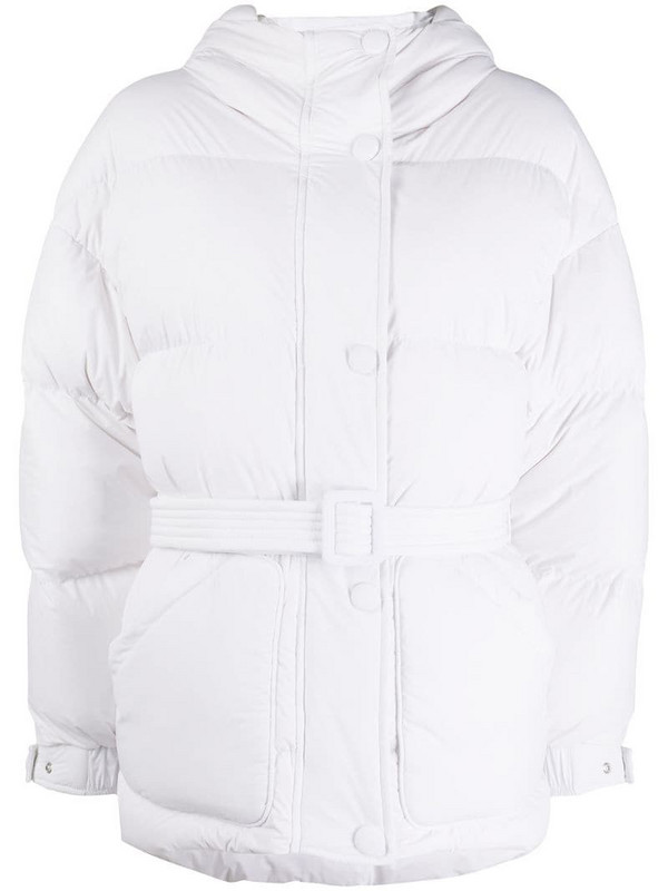 Ienki Ienki Michlin quilted jacket in white
