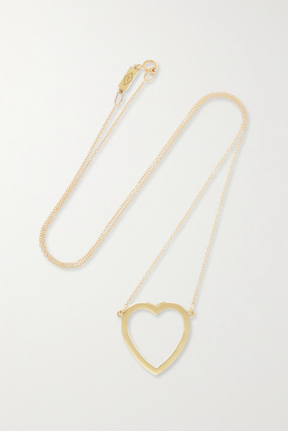 Jennifer Meyer - Open Heart 18-karat Gold Necklace