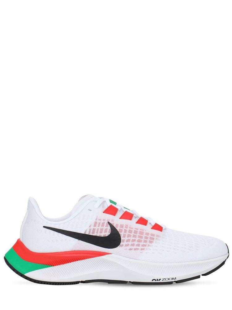 NIKE Air Zoom Pegasus 37 Ek Sneakers in black / red / white