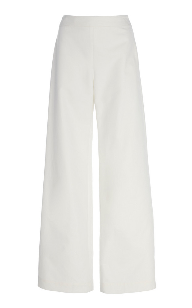 Merlette Kadapul Wide Leg Trousers in white