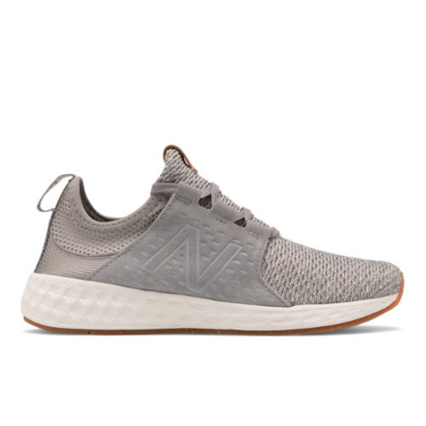 New Balance Fresh Foam Cruzv1 Reissue Women's Shoes - Grey/Off White (WCRZRRG)