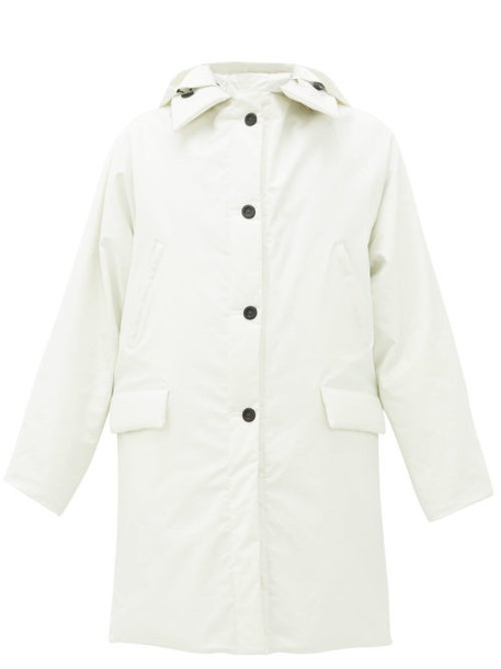 Kassl Editions - Oil Padded Shell Jacket - Womens - White
