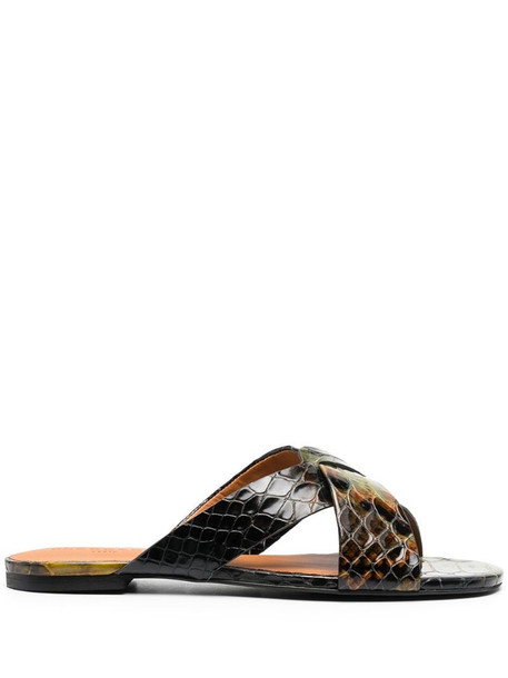 Clergerie Issys sandals in green