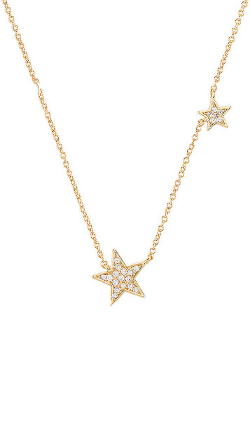 gorjana Super Star Shimmer Necklace in Metallic Gold