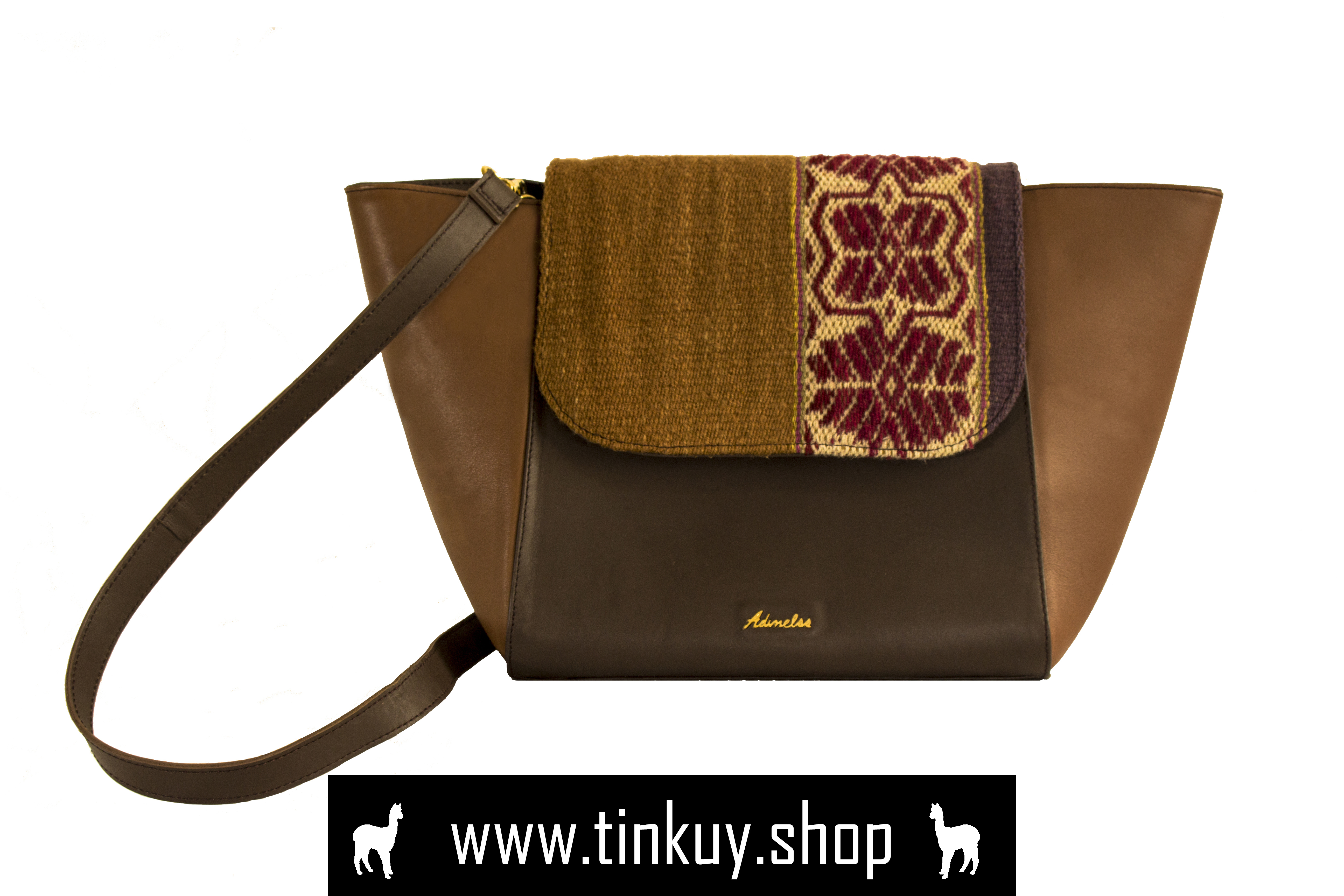 bag leather bag fabric cap detail crafted leather shoulder bag unique product peruvian design beautiful color combination combinable shoulder bag leather bags for women handmade embroidery handmade bag
