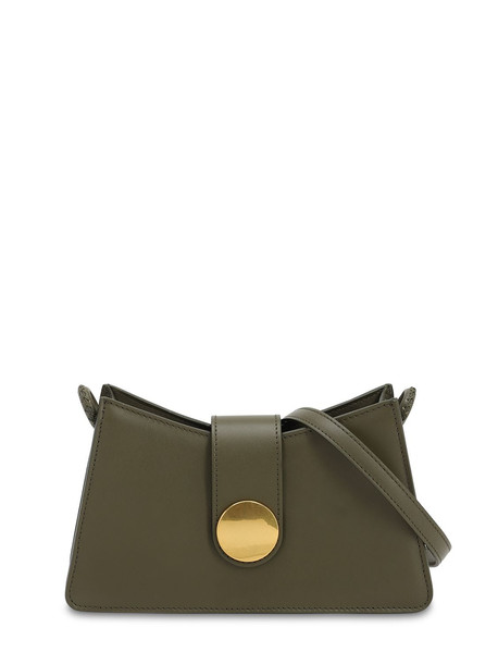 ELLEME Baguette Smooth Leather Bag in green