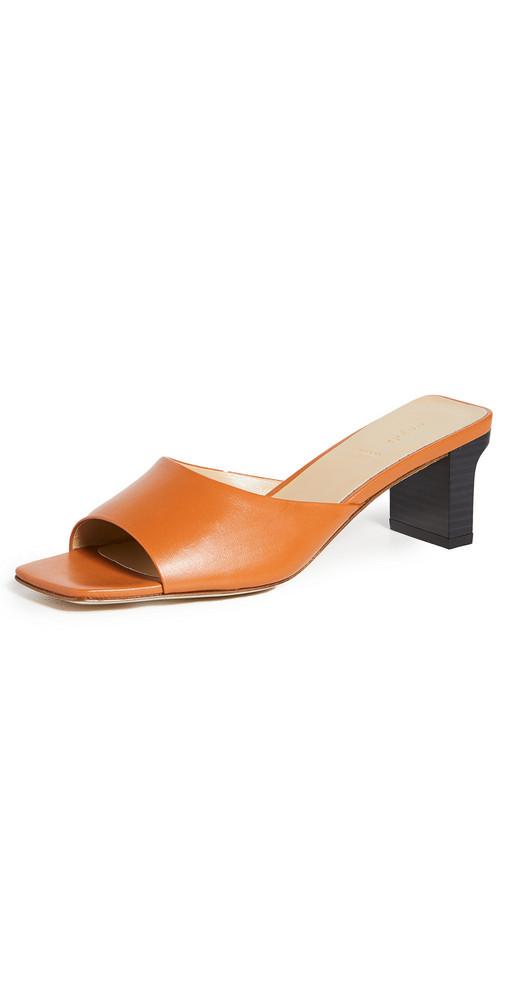 AEYDE Katti Sandals in saffron