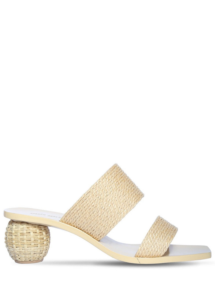 CULT GAIA 55mm Jila Raffia Sandals in natural