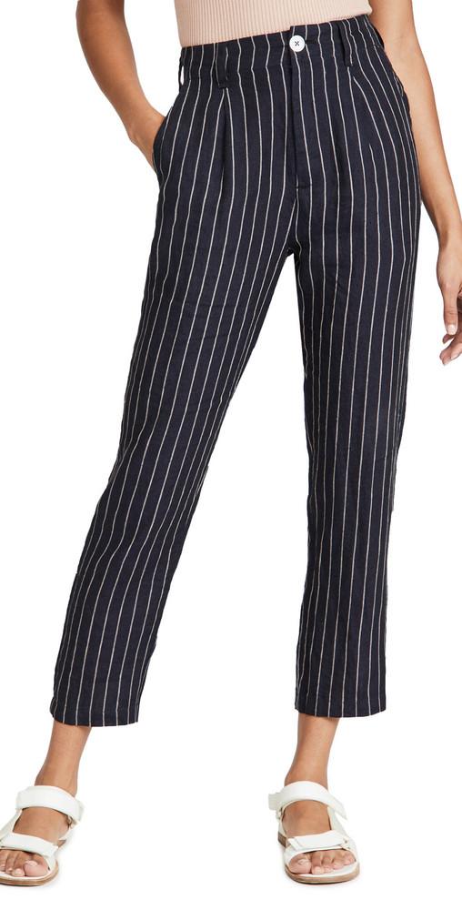 Alex Mill Striped Boy Pants in navy / ivory