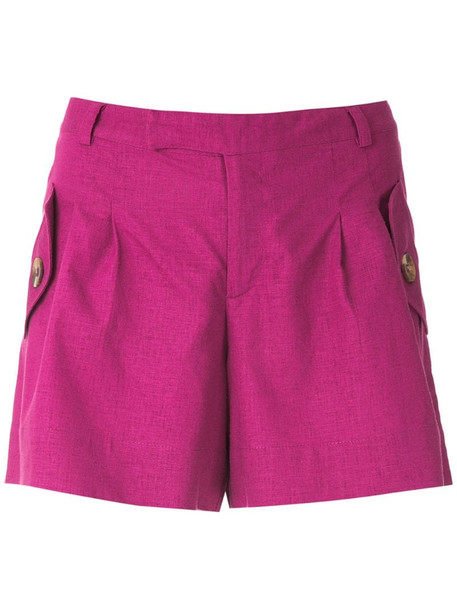 Olympiah Bryone pockets shorts in pink