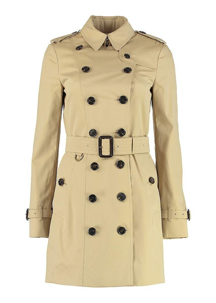 Burberry Sandringham Medium Trench in beige