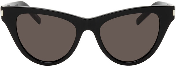 Saint Laurent Black SL 425 Cat Eye Sunglasses
