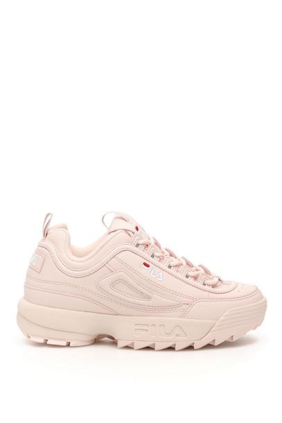 Fila Disruptor M Low Sneakers in pink