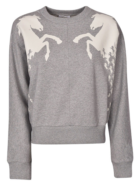 Chloé Chlo © Horse Detail Sweater in grey