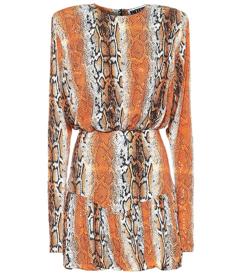 ROTATE BIRGER CHRISTENSEN Alina python-print minidress