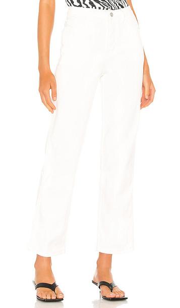 superdown Ariana Cargo Jeans in white