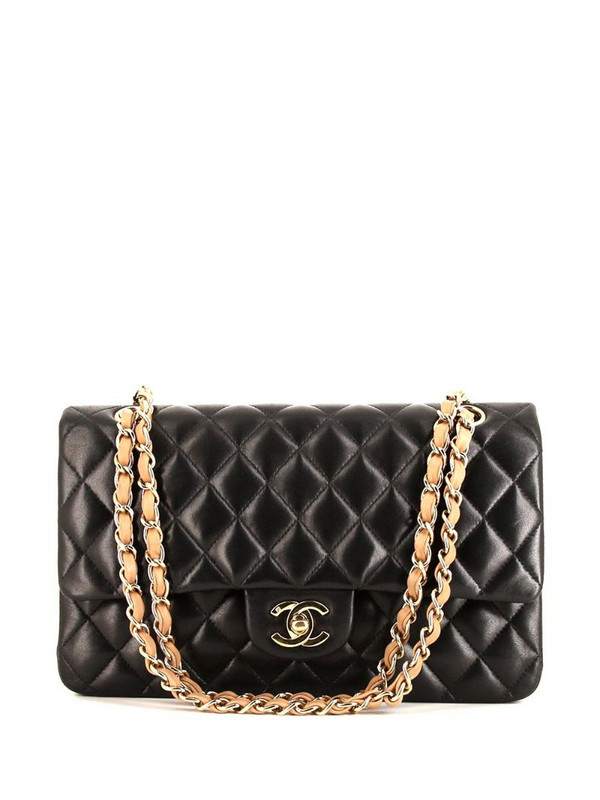 Chanel Pre-Owned quilted Timeless shoulder bag in black
