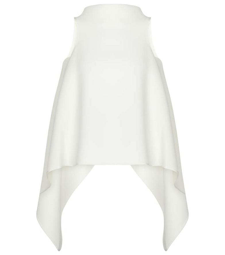 Maticevski Calibrate top in white