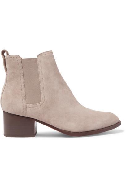 rag & bone - Walker Suede Chelsea Boots - Taupe