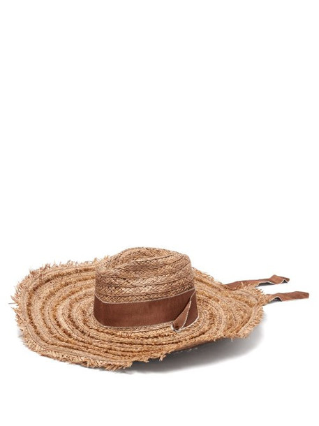 hat straw hat brown