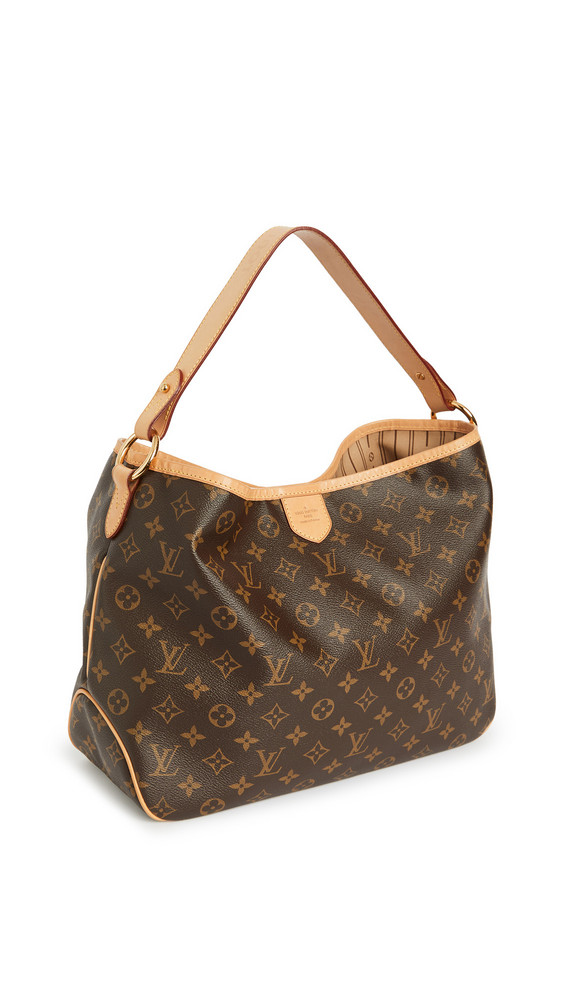 What Goes Around Comes Around Louis Vuitton Monogram Delightful Pm Bag in brown / multi