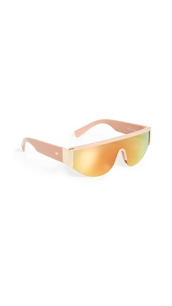 Le Specs Viper Sunglasses in blush