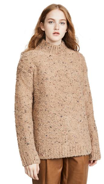 GANNI Slub Knit Sweater