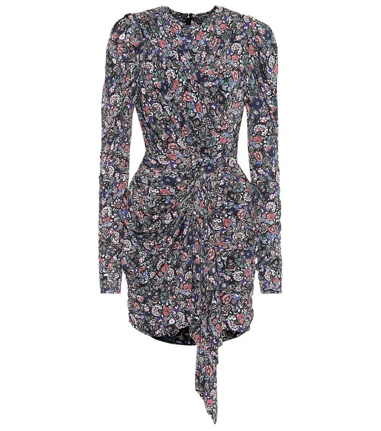 Isabel Marant Tonia printed stretch-jersey minidress