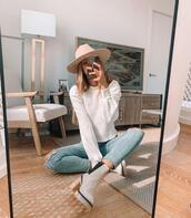 shoes,hat,top