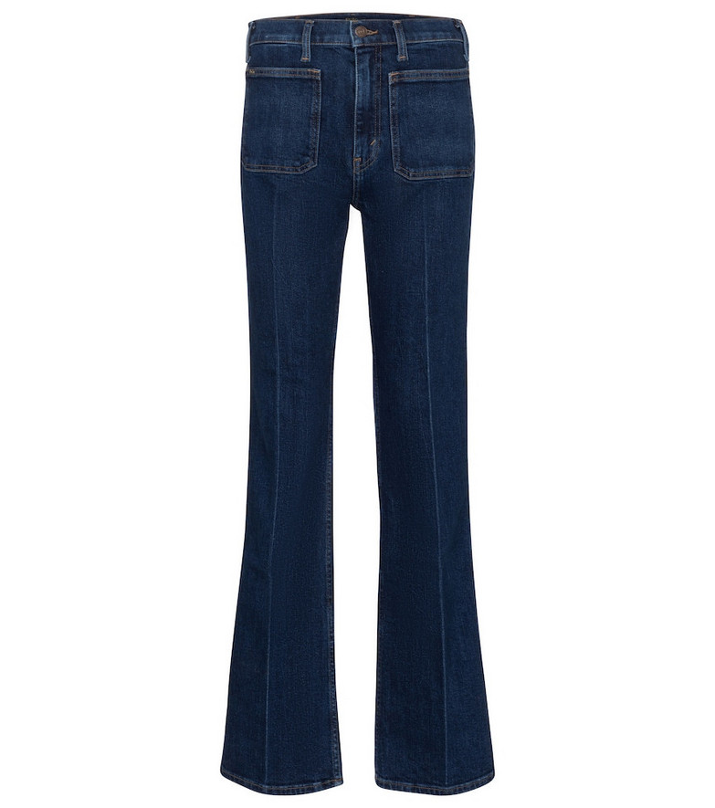Polo Ralph Lauren High-rise straight jeans in blue