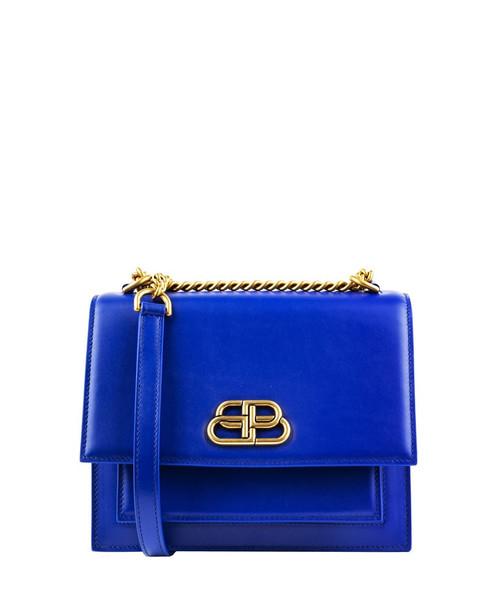 Balenciaga Blue Sharp Bag S