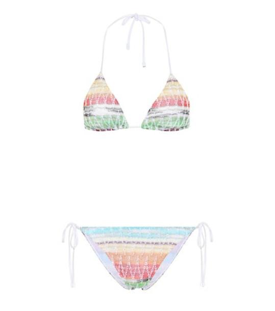 Missoni Mare Crochet halterneck bikini