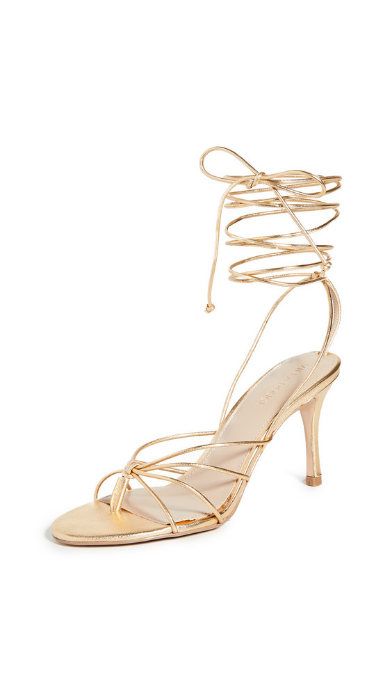 Villa Rouge Aries Sandals in gold