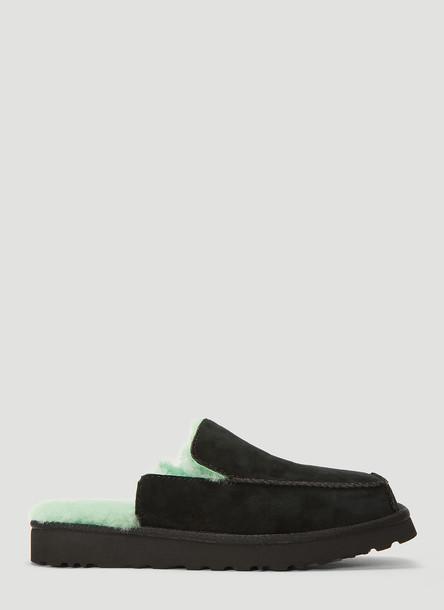 Eckhaus Latta X Ugg Block Slide in Black size US - 08