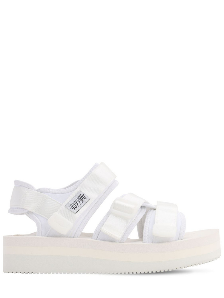 SUICOKE Kisee-vpo Sandals in white
