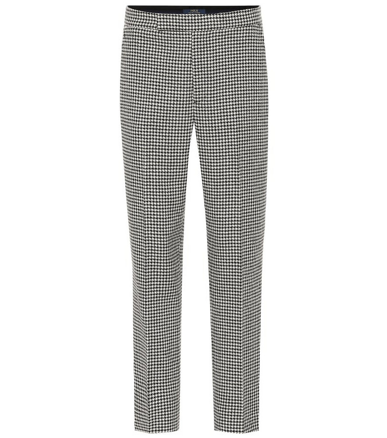 Polo Ralph Lauren Checked wool-blend pants