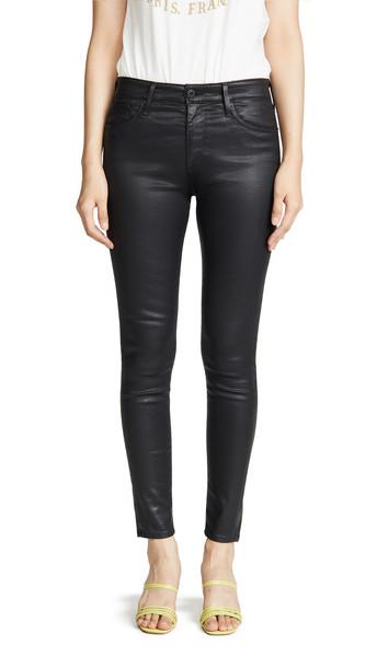 AG The Farrah Skinny Jeans in black
