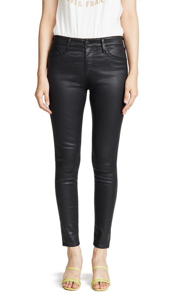 AG The Farrah Skinny Jeans in black