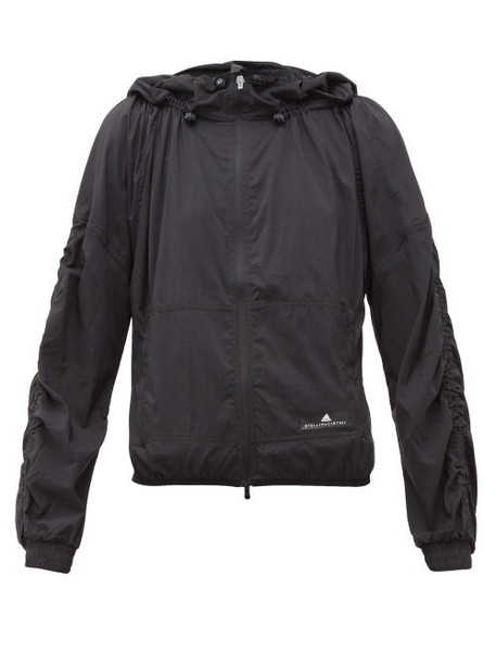 Adidas By Stella Mccartney - Run Light Zipped Technical Jacket - Womens - Black