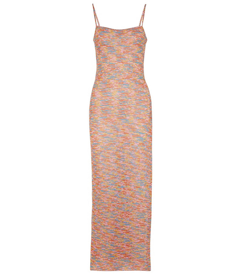 Missoni Mare Space-dyed knit maxi dress