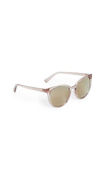 Le Specs Armada Sunglasses in gold / stone