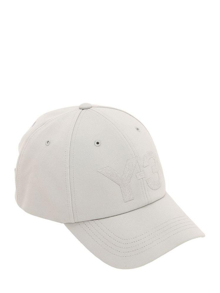 Y-3 Logo Techno Baseball Hat in grey