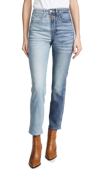 Jordache Half & Half Jeans in blue