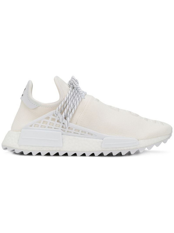 adidas by Pharrell Williams Hu Holi NMD MC sneakers in white