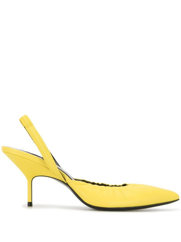 Pierre Hardy Gala slingback sandals in yellow