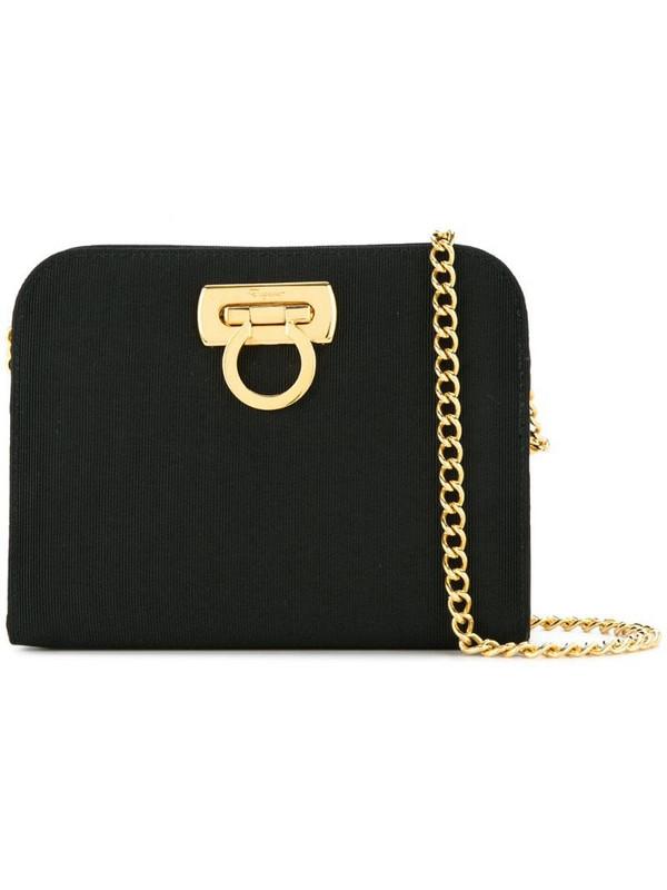 Salvatore Ferragamo Pre-Owned Gancini 2way chain bag in black