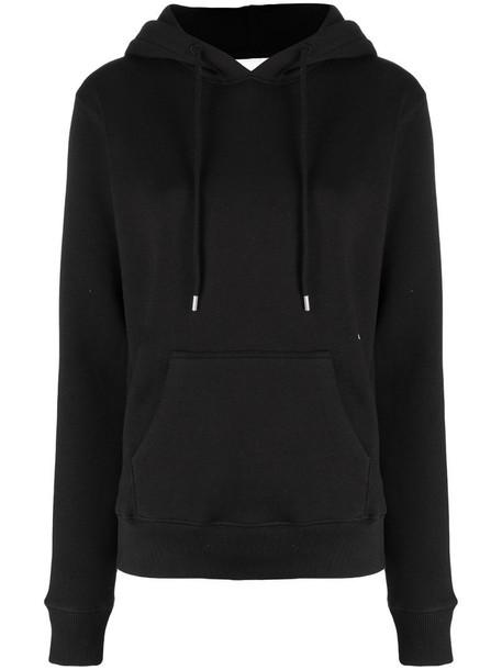 Soulland Wilme drawstring hoodie in black
