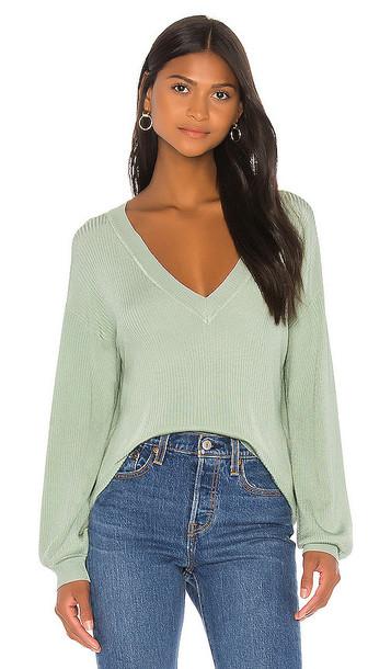 Lovers + Friends Lovers + Friends Bellarose Sweater in Green